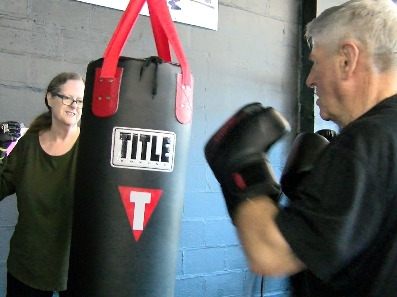 "Participants take part in a boxing program called ""Rock Steady"", which helps those with Parkinson's Disease stay active and help with side effects. Rock Steady is being offered at Unique Physique in York."