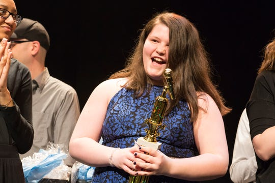 Teagan Thatcher wins the People's Choice award in the 2019 YorVoice competition
