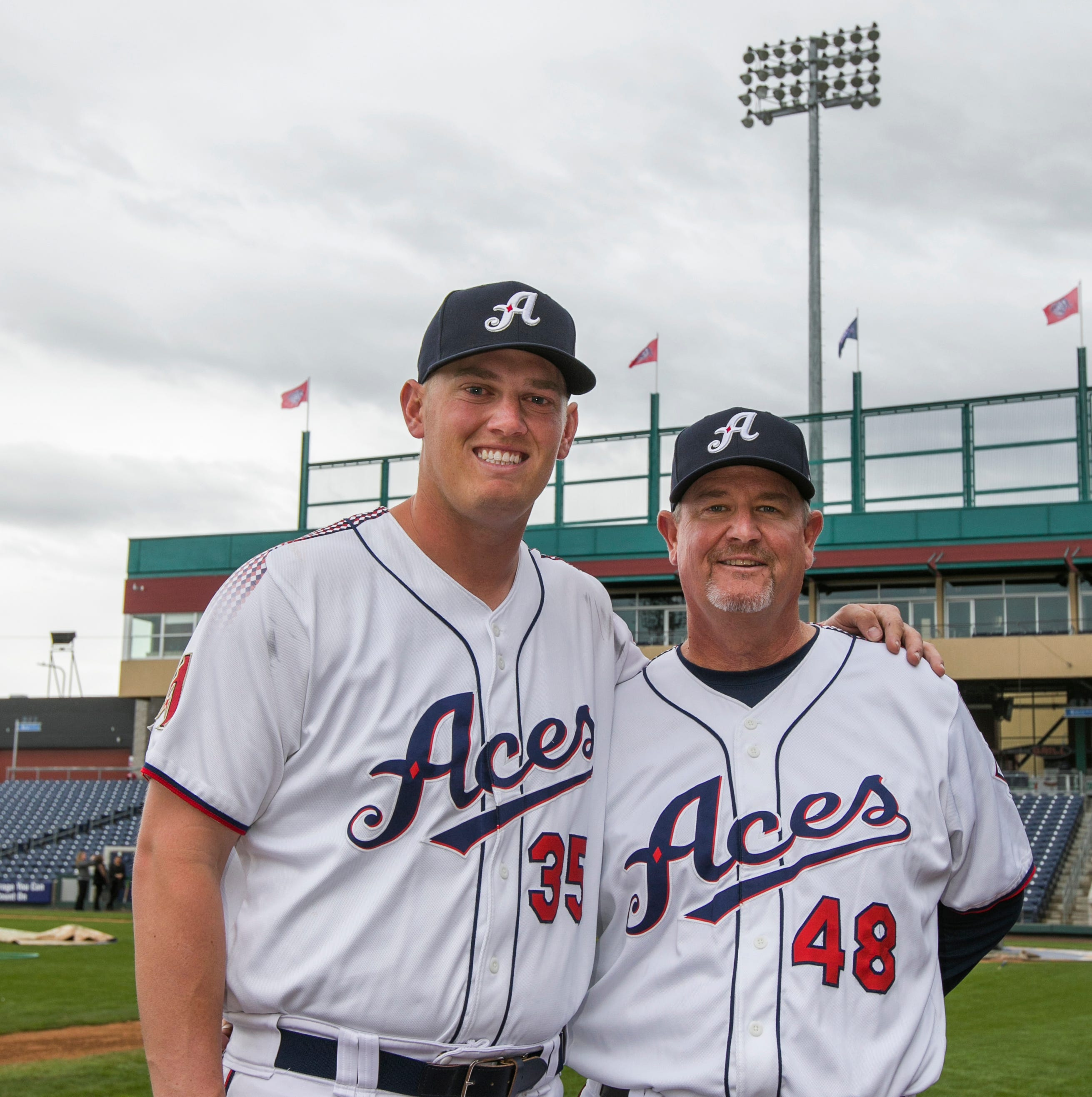 Game of Crons: Aces manager to coach his own son to start the season