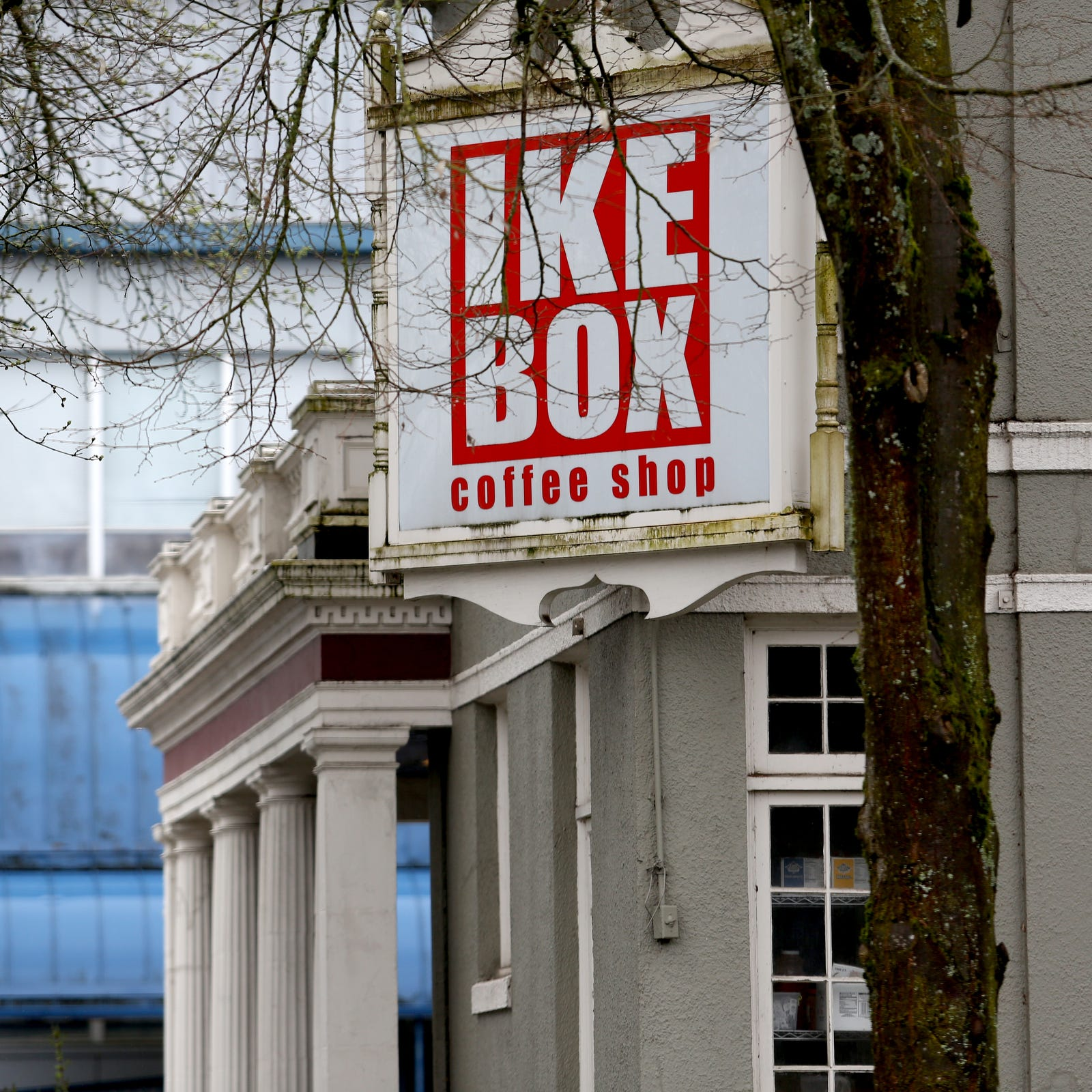 IKE Box owners seek $1.5 million to move two-story coffee shop building