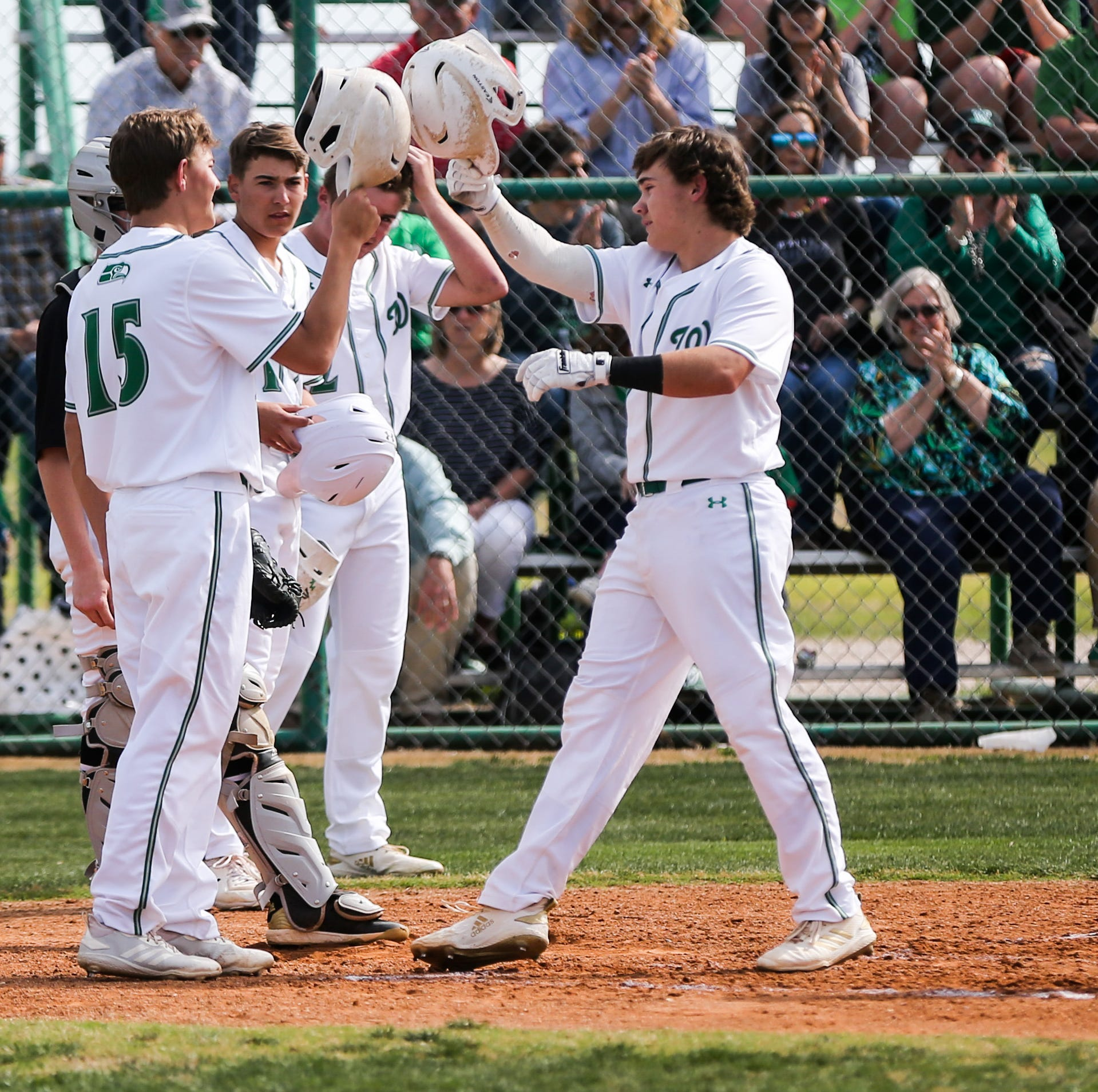 BASEBALL ROUNDUP: Undefeated Wall Hawks win home finale