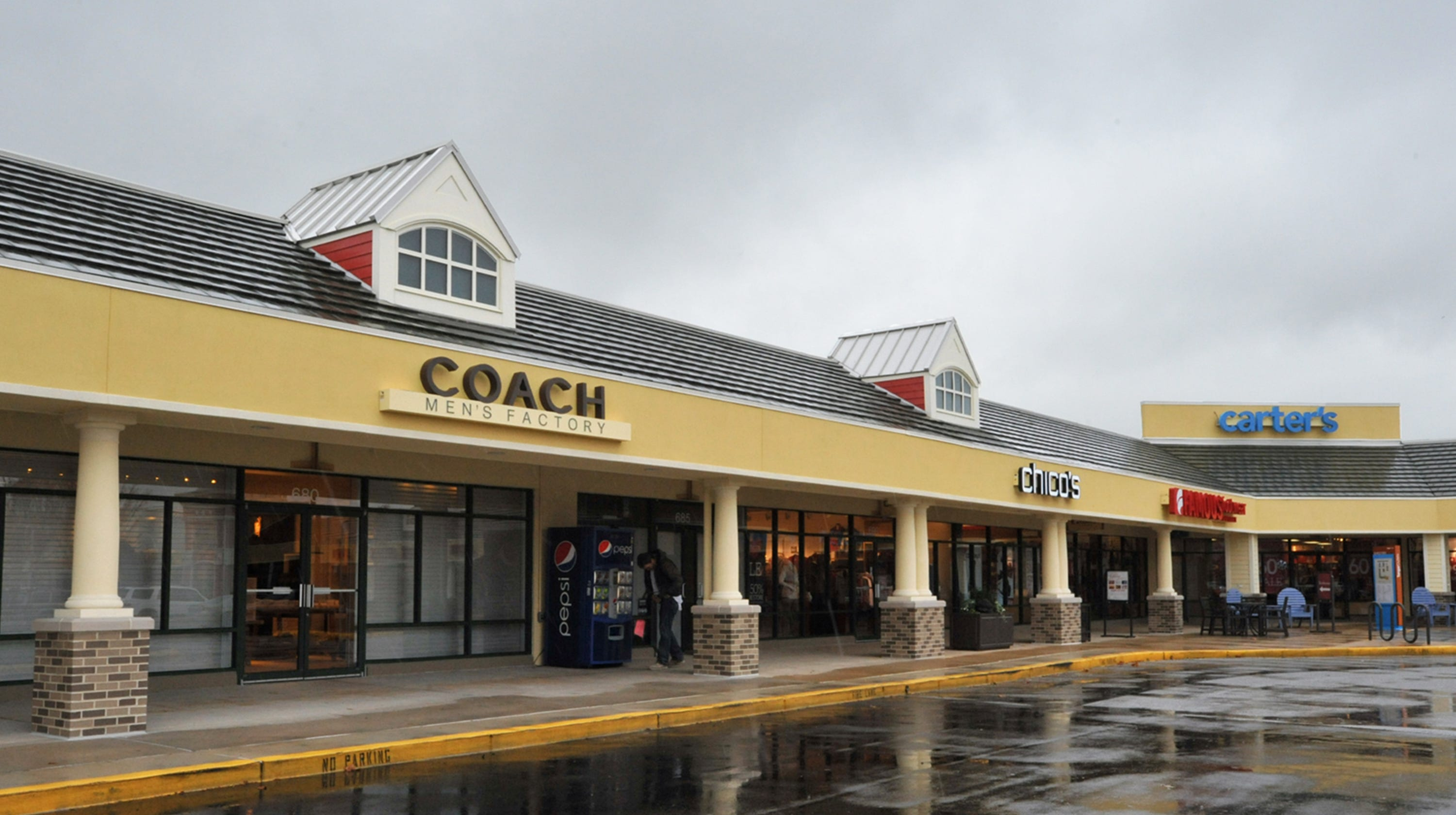 Ocean City Factory Tanger Outlet sold