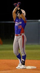 Louisiana Tech shortstop Bayli Simon, who prepped at North DeSoto, has become a dangerous player for the Lady Techsters.