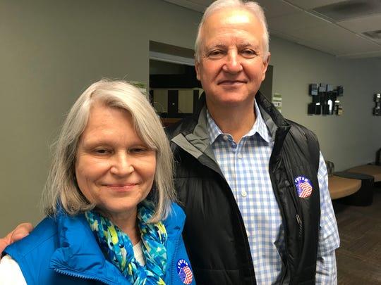 Trish and Bill Hendrick