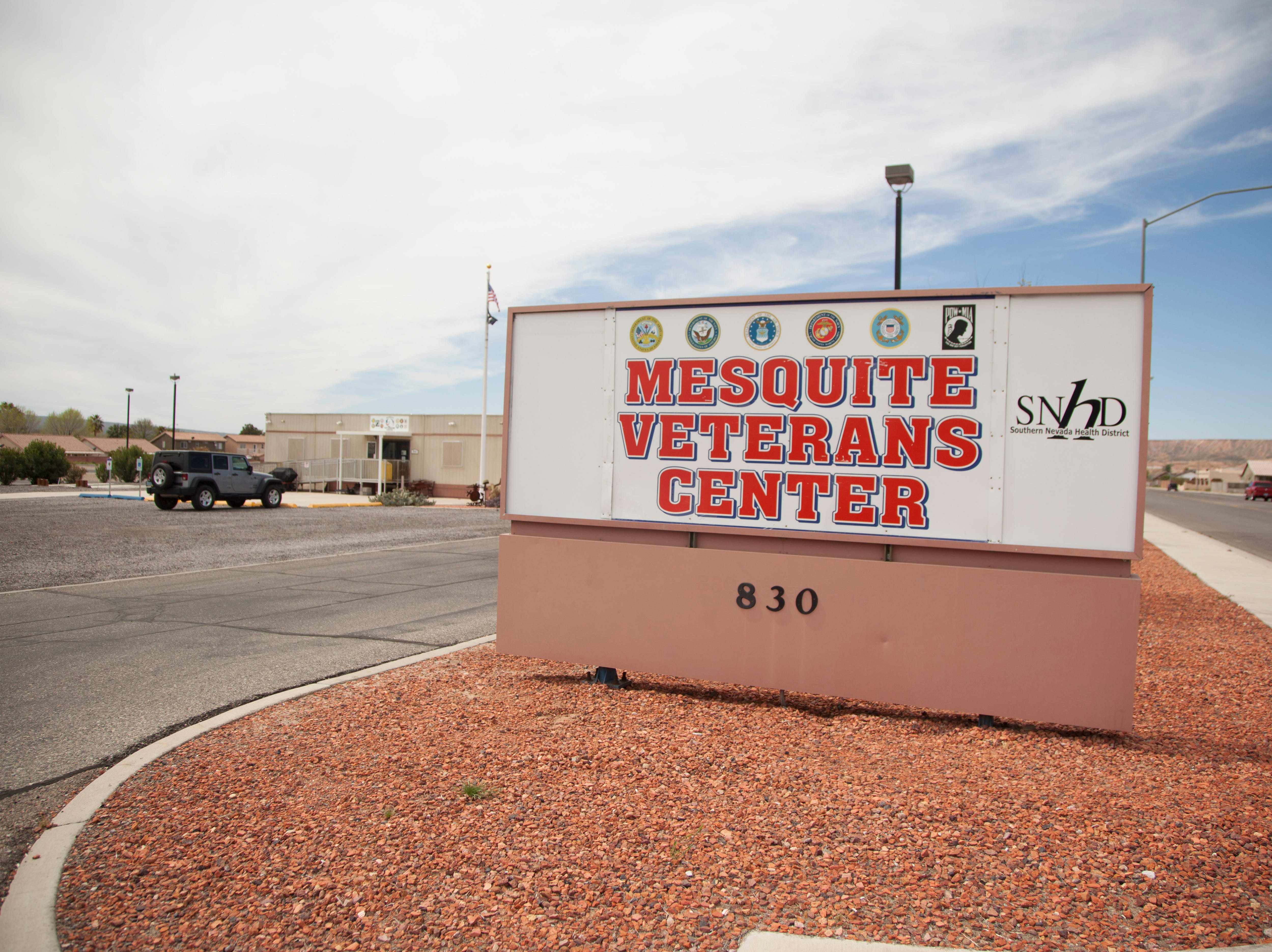 Veterans find balance and peace through yoga at the Mesquite Veterans Center Thursday, March 28, 2019.