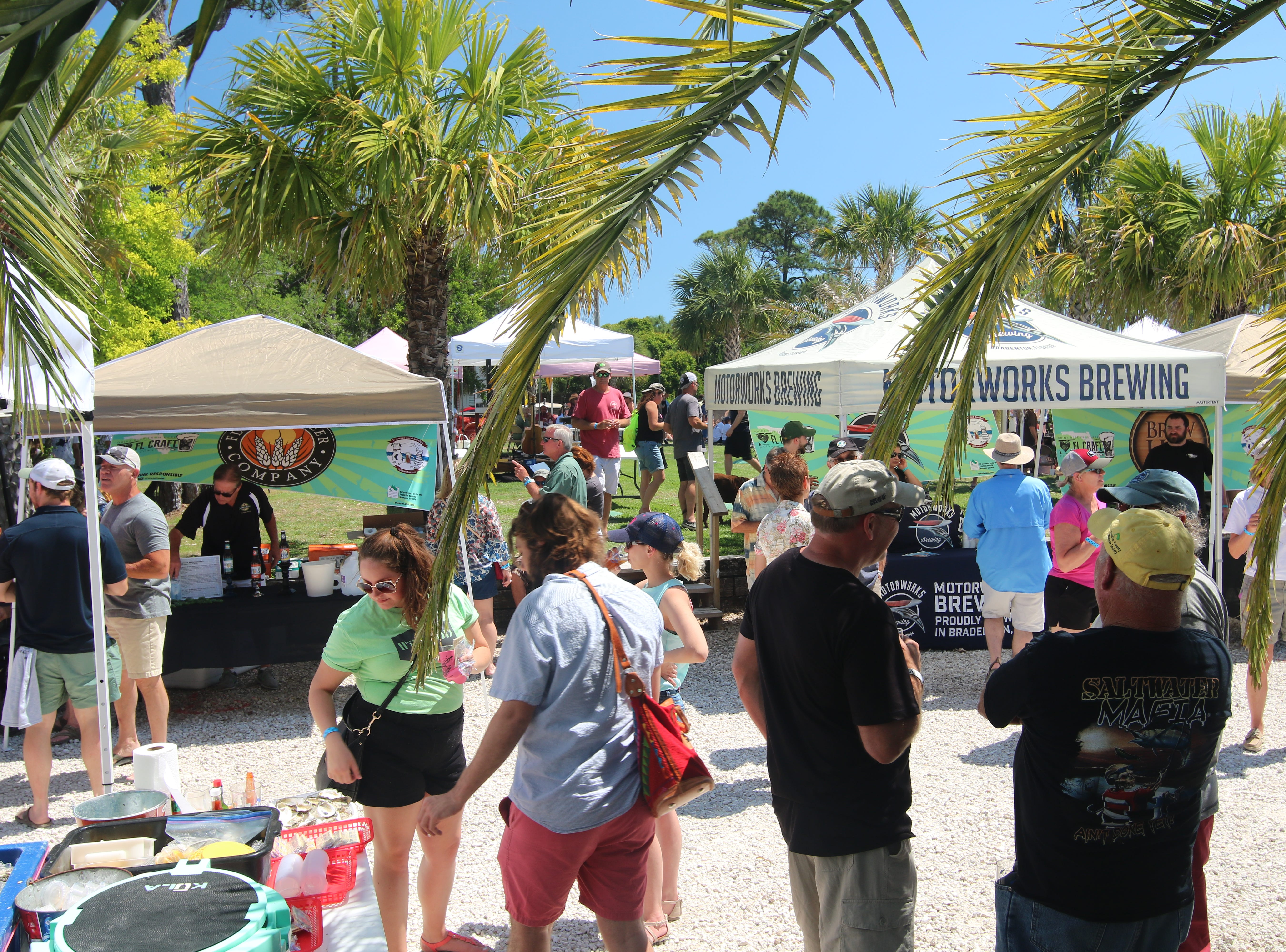 The 4th Annual St. George Island Brewfest will be held April 27 at Paddy's Raw Bar and Journey's of SGI, and will feature 40 breweries from around the Southeast, including all of Tallahassee's craft breweries and Franklin County's own Oyster City Brewing Company and Eastpoint Beer Company.