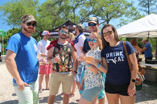 The 4th Annual St. George Island Brewfest was held April 27 at Paddy's Raw Bar and Journey's of SGI, and featured 40 breweries from around the Southeast, including all of Tallahassee's craft breweries and Franklin County's own Oyster City Brewing Company and Eastpoint Beer Company.