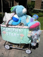 TheShopping Cart Parade to benefit United Against Poverty will take place at 1 p.m. April 13.