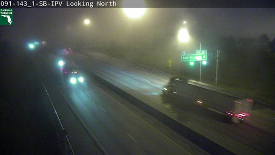 Dense fog could reduce visibility to less than a quarter mile in some locations April 2, 2019.