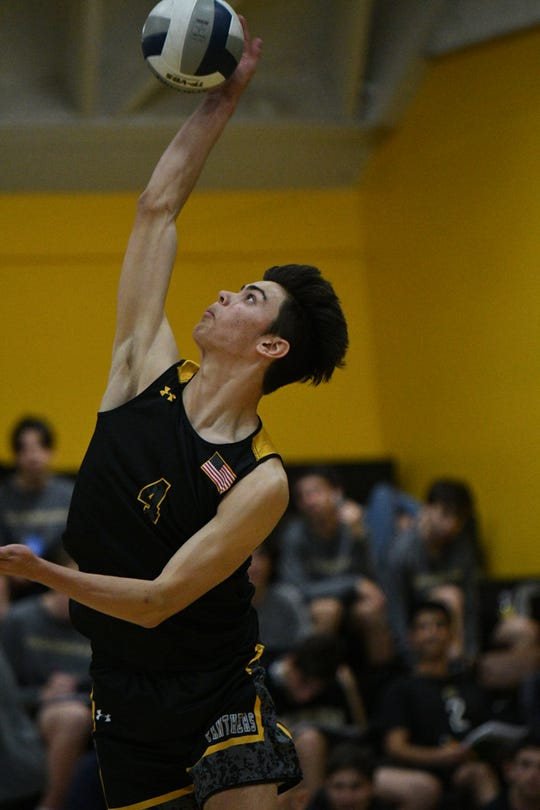 Newbury Park sophomore outside hitter Luke Benson ranks among the top players in the section.