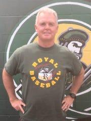Dan Maye has won 501 — and counting — games as Royal High's baseball coach.