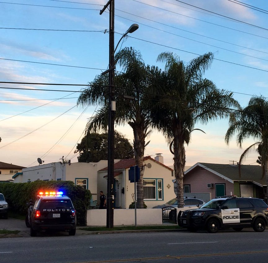 Man hiding in Ventura garage taken into custody with help from helicopter, K-9s