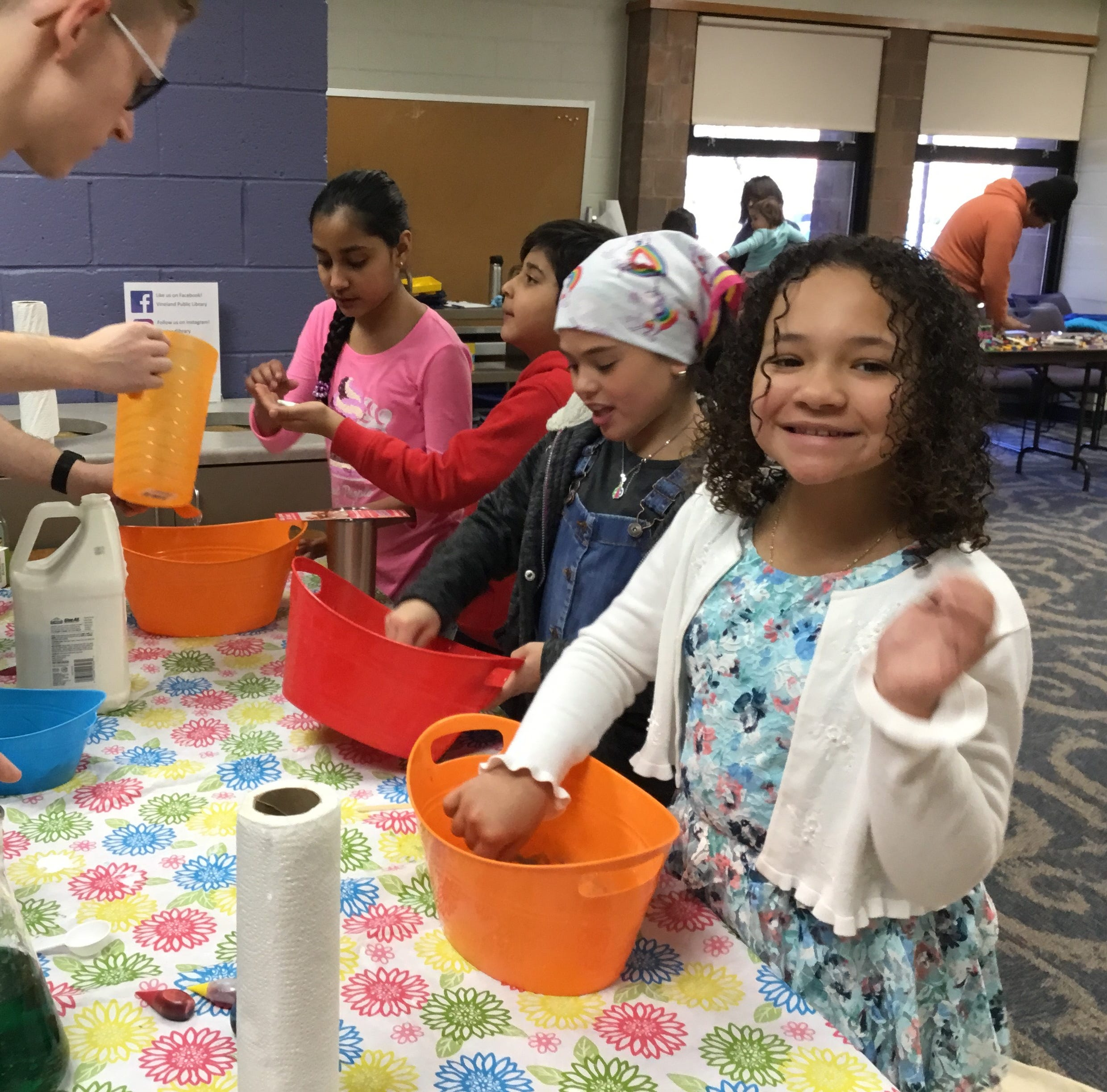 Vineland library hosts fun STEM event