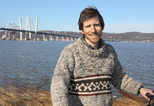 Dan Convissor, director of Bike Tarrytown, said he has concerns about the opening of Ramp E to the Gov. Mario M. Cuomo Bridge.