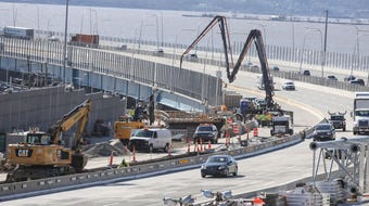 Shared Use Path on the Mario Cuomo Bridge won't open for months.