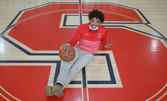 Stepinac's R.J. Davis is the Journal News/lohud Westchester/Putnam boys basketball player of the year March 30, 2019.