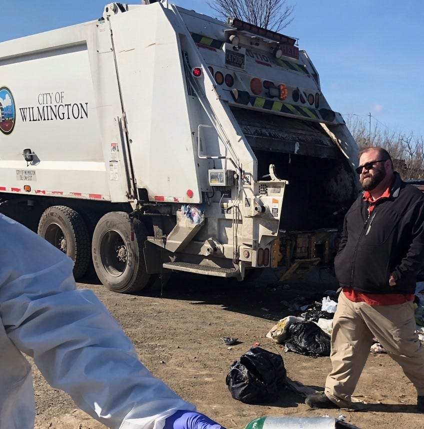Union rep: Wilmington trash collectors hurt in explosion still recovering
