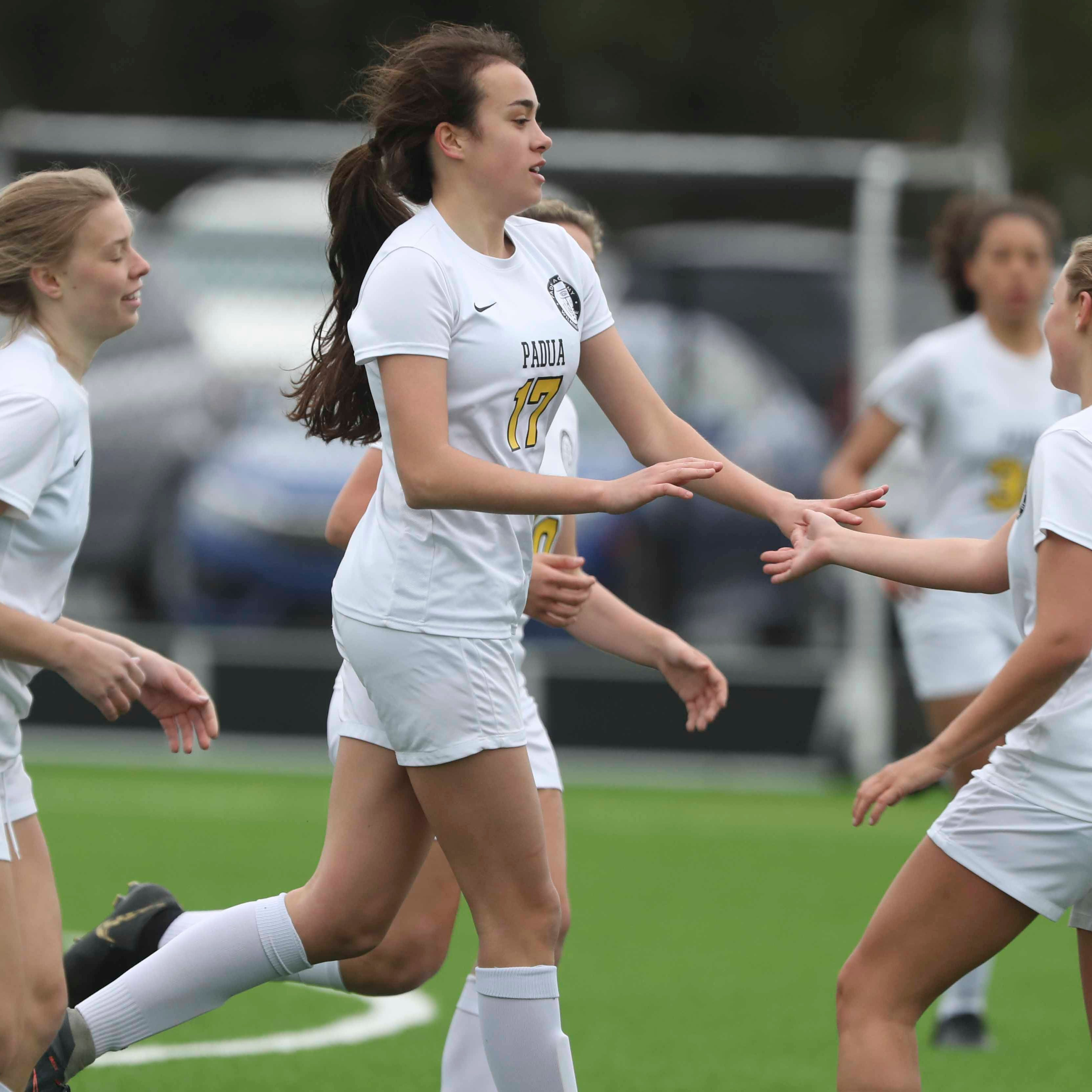 No. 1 Padua outlasts No. 2 Caesar Rodney in early girls soccer showdown