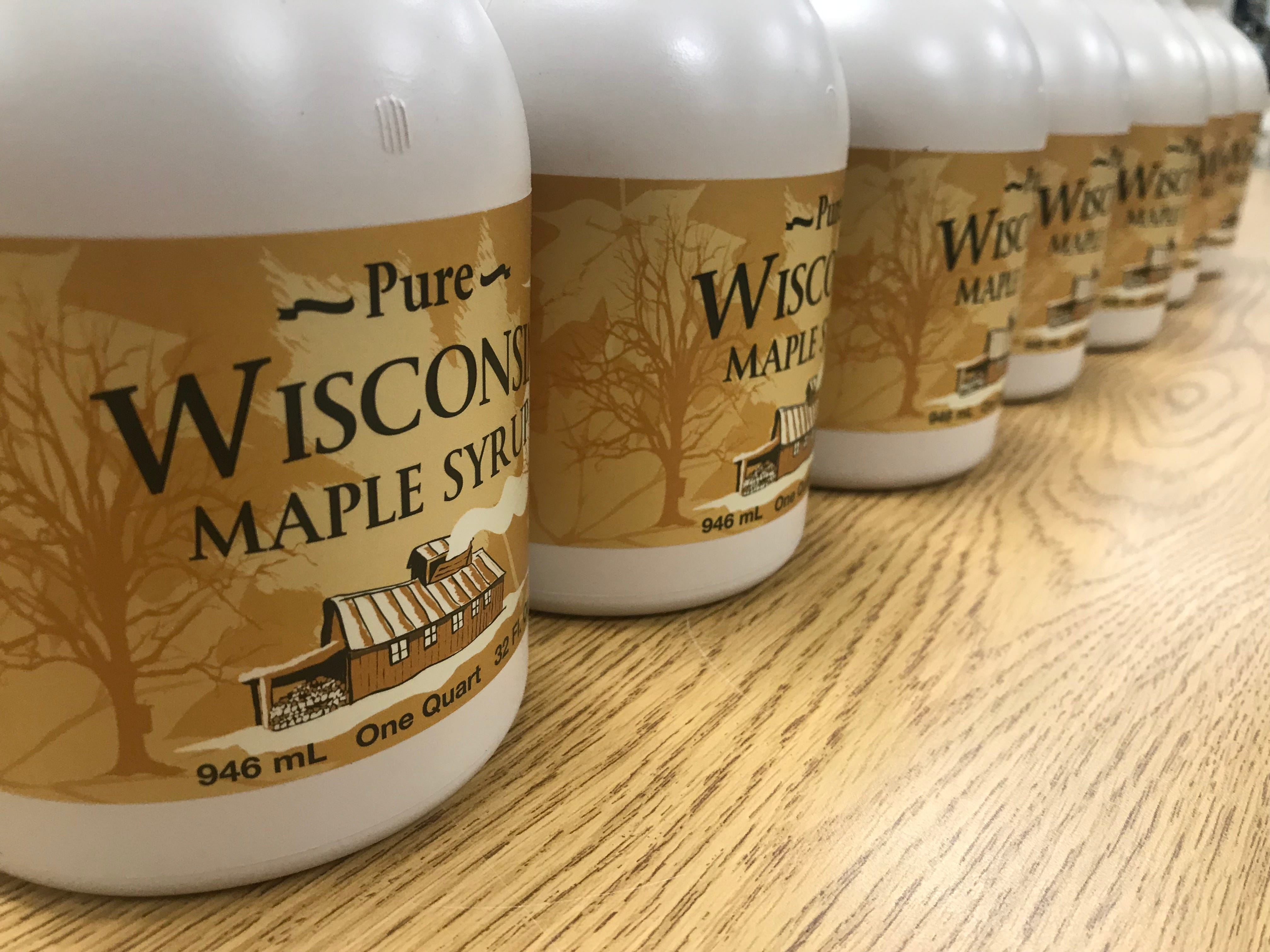 Albany FFA produces and sells maple syrup as a chapter.