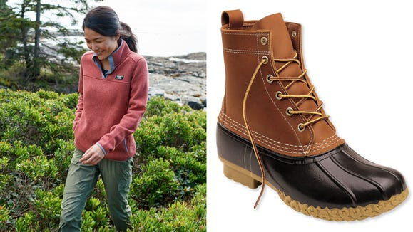 Save 25% on Bean Boots, pullovers, and more.