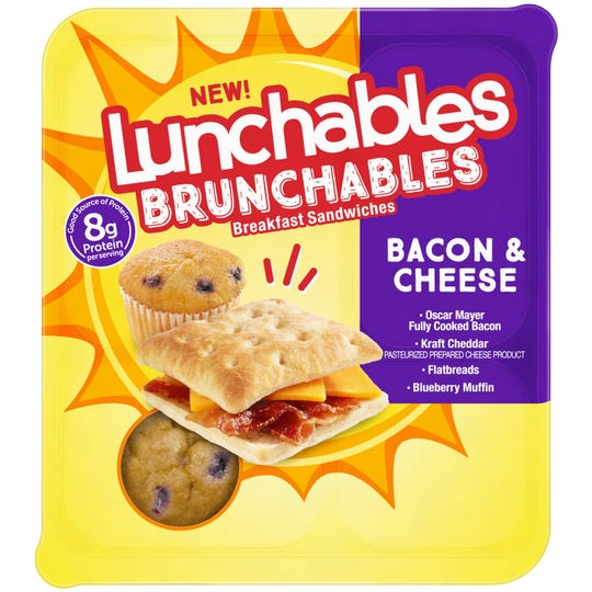 Lunchables Brunchables will arrive in stores in April.