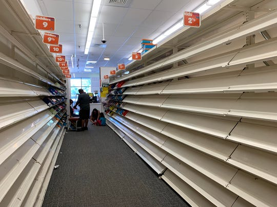 Nearly 14% of Payless stores had faster liquidation sales and closed in March including a location in Coral Springs, Florida.