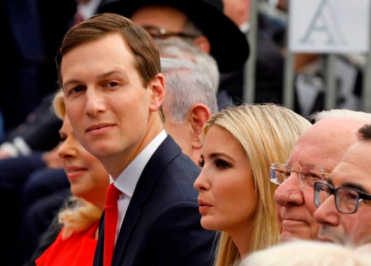 Senior White House adviser Jared Kushner and Ivanka Trump.