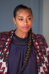 Zoe (Melanie Liburd) thinks about her long-term prospects with Kevin in the 'This Is Us' Season 3 finale.