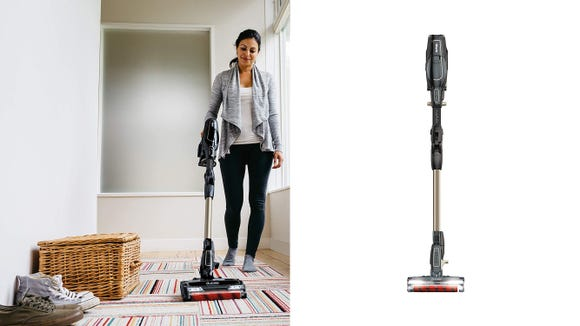 This lightweight cordless stick vacuum is perfect for keeping things tidy around the house.