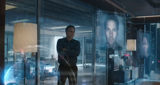 Marvel Studios' AVENGERS: ENDGAME..Bruce Banner (Mark Ruffalo)..Photo: Film Frame..©Marvel Studios 2019