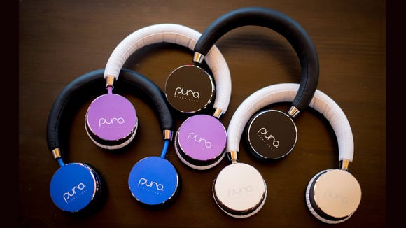 These kids headphones come in a few fun colors but still look as sleek and Mom and Dad's.