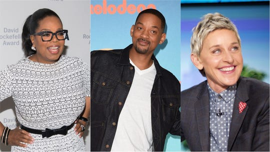 Oprah Winfrey, Will Smith and Ellen DeGeneres are among those nominated for the 2019 Webby Awards.