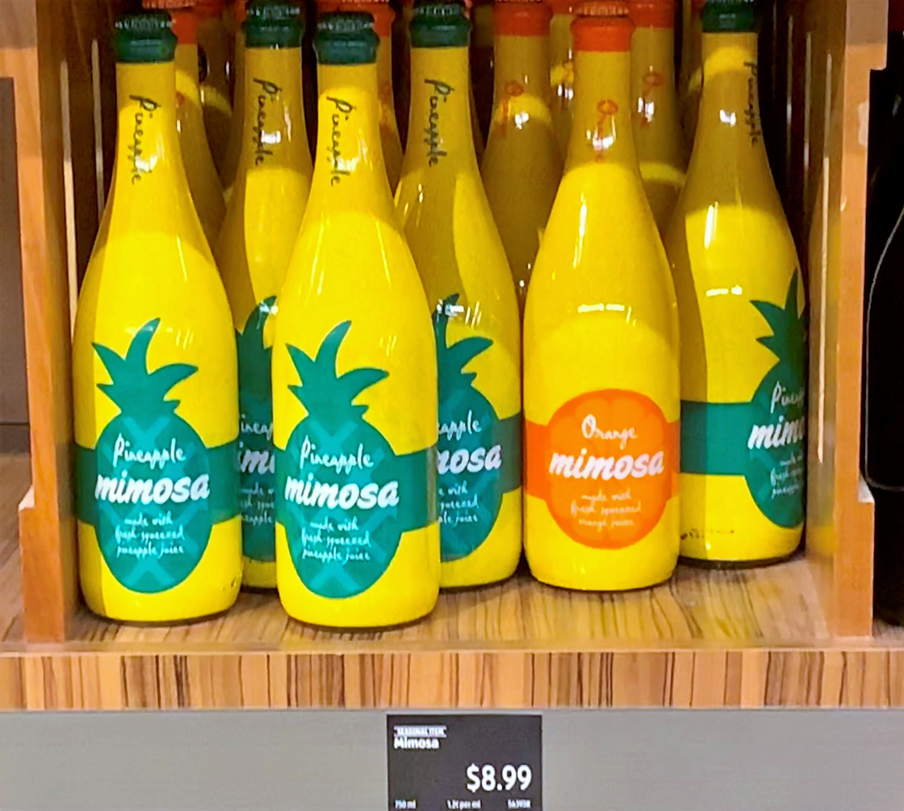 aldi pineapple mimosa retailer selling special bottled mimosas rh usatoday com