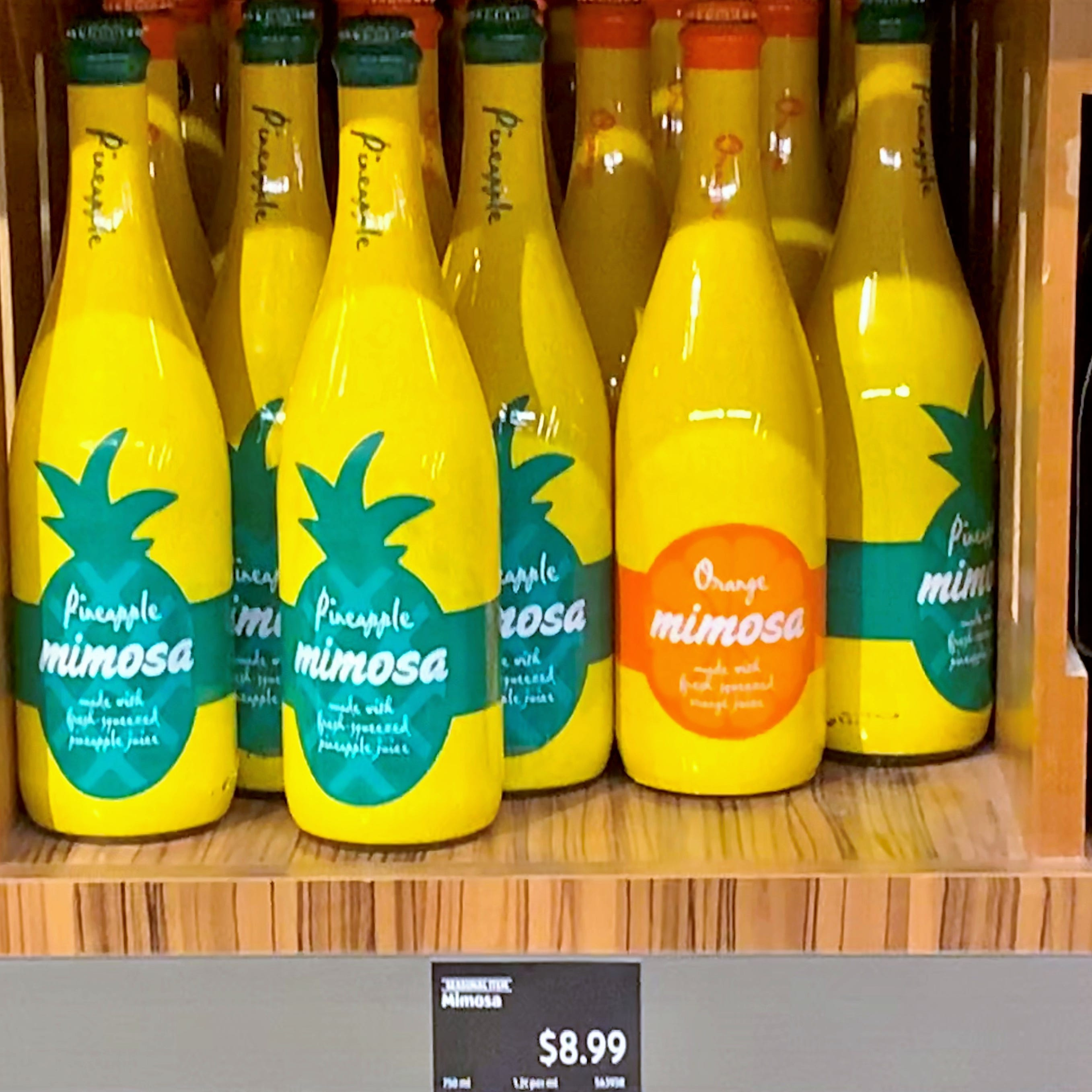 Bottled mimosas for Spring Break? Aldi's has them for a limited time