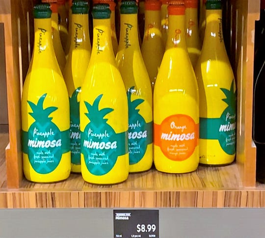 Aldi is selling pineapple and orange mimosas while supplies last.