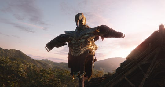 Thanos has retired his armor. For now.