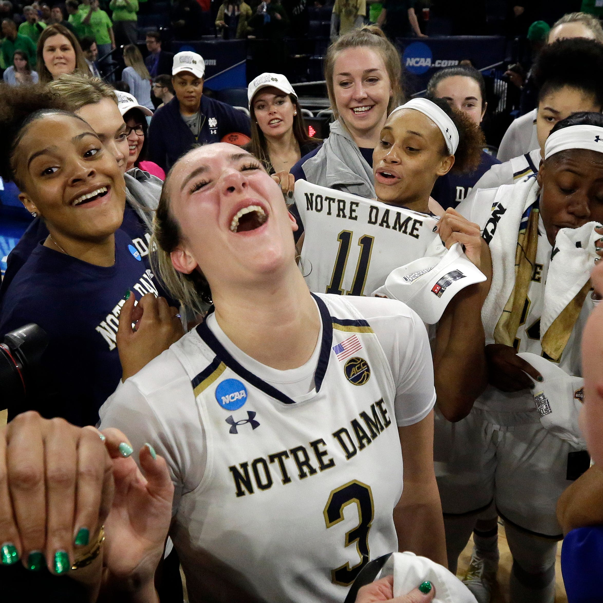 NCAA Women's Final Four: For Manasquan's Marina Mabrey, one more title run with Notre Dame