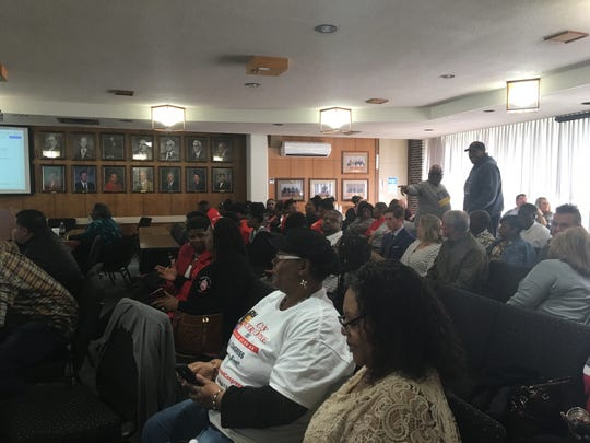 Supporters of Arthur F. Smith Middle Magnet School packed a Tuesday meeting to show they were against a proposal that might have closed the school. Rapides Parish School Board members voted on a different option that will refurbish and renovate the school.