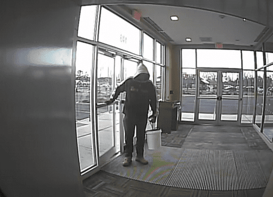 Investigators are seeking leads on an ATM holdup in Marlboro on March 31.