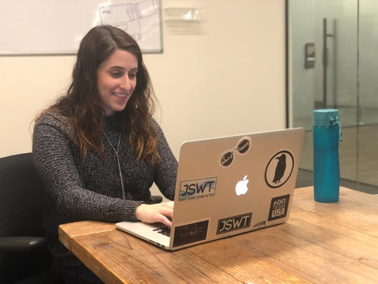 Jenna Gaudio, vice president of product management and marketing at Vydia in Holmdel.