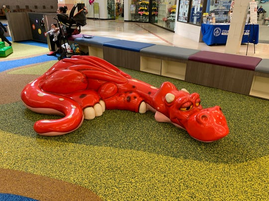 The new child's play area at Ocean County Mall has its grand opening on April 6, 2019.