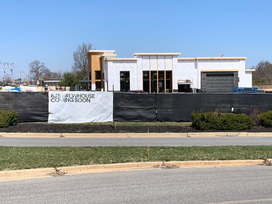 BJ's Brewhouse at the Ocean County Mall is expected to open sometime this summer.