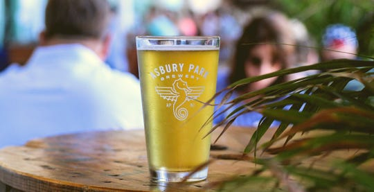 The Blonde lager from Asbury Park Brewery