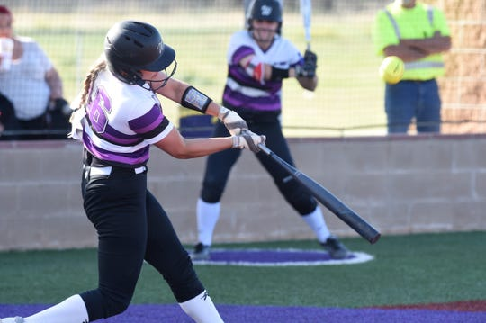 Wylie's Lilly New (16) is part of a big, experienced junior class this season. New and the Lady Bulldogs open their first Class 5A postseason with a three-game series against Canyon Randall starting Friday at Lubbock-Cooper.