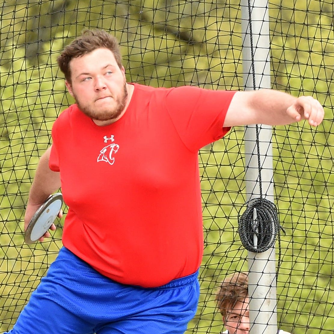 Abilene Cooper's McCord Whitaker sweeps District 4-5A throwing titles