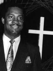 The Rev. Eddie Jordan, in April 1991