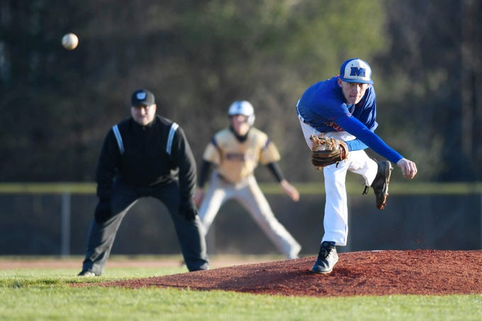 Madison defeated Mitchell 6-4 April 2, 2019 in Marshall.