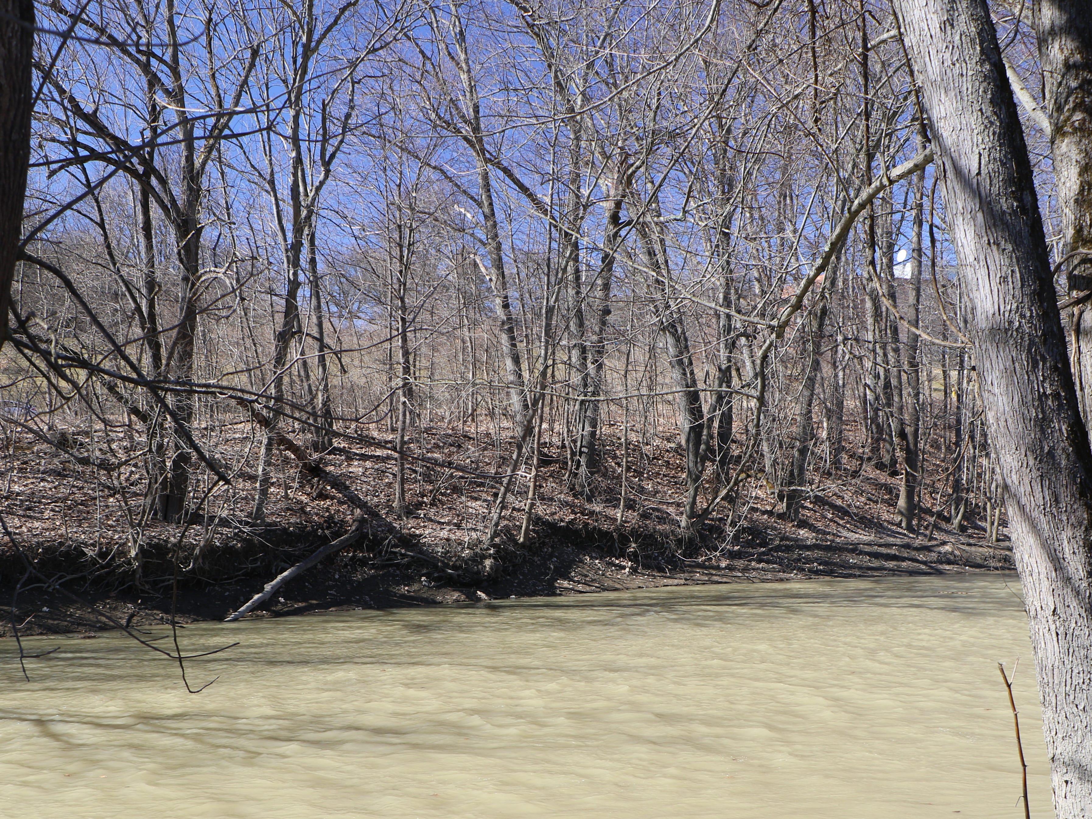 A shot of Nanticoke Creek.