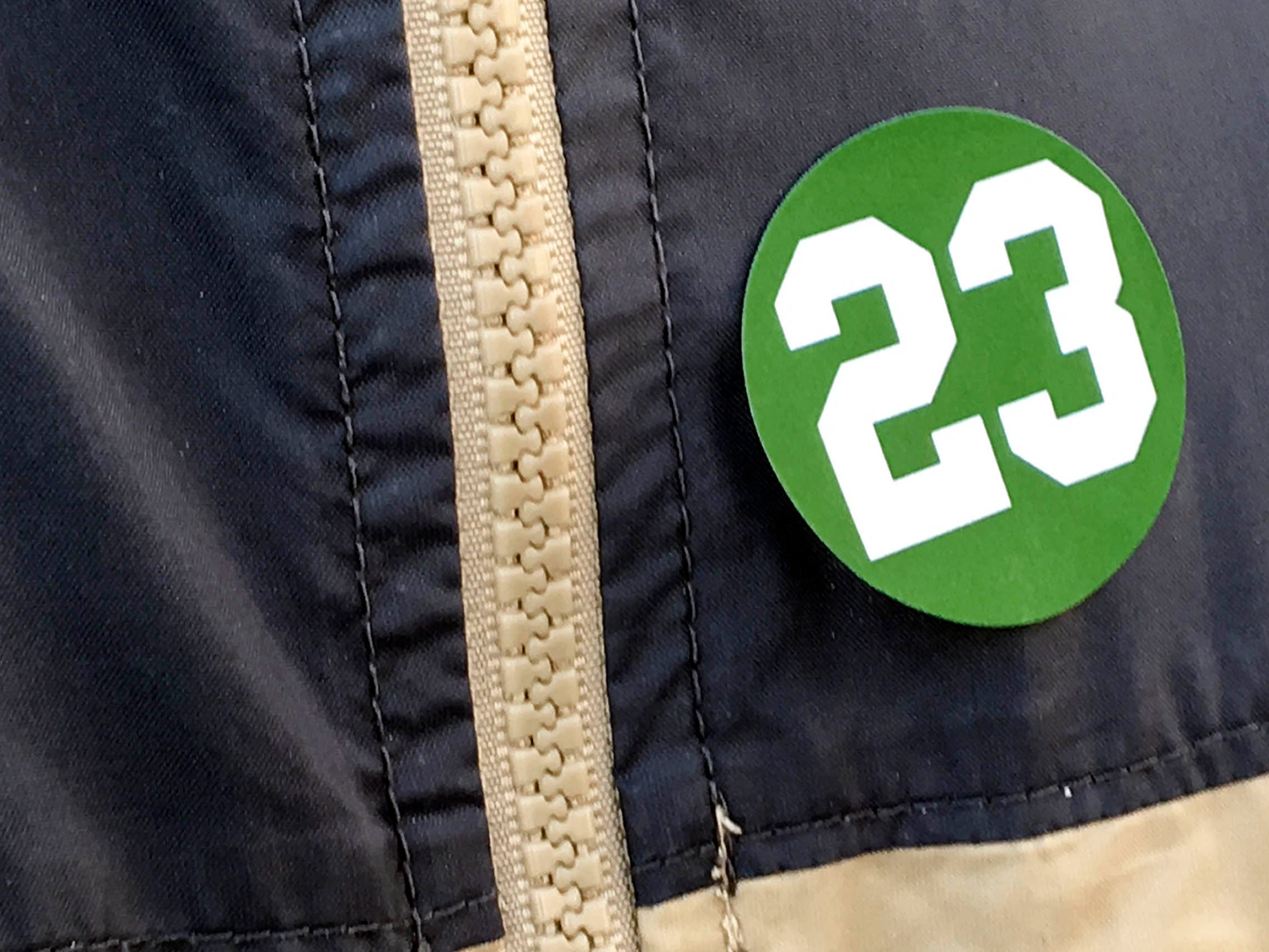 A number of fans and school officials are wearing the number 23 Tuesday at Viera High School. They were thinking about a Viera lacrosse player who suffered cardiac arrest and collapsed Monday afternoon.