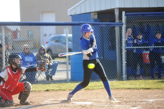 Hannah Messmer and the Lady Royals had their eye on a sectional title this year.